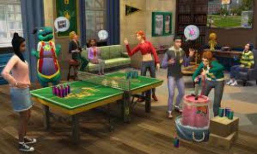 Download The Sims 4 Discover University v1.62.67.1020 PC Game Full Version Free